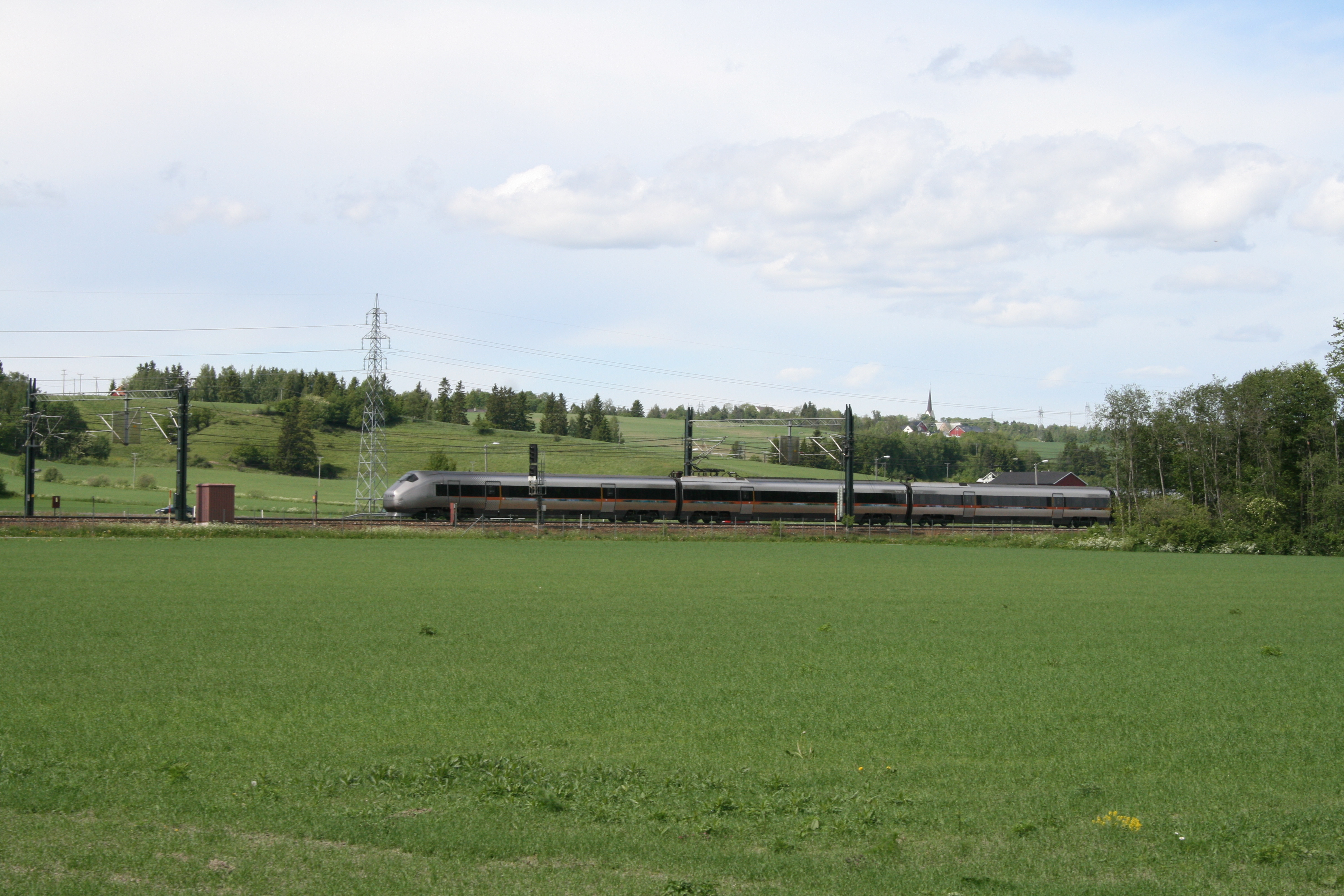 Gardermoen nagysebességű vasútvonal