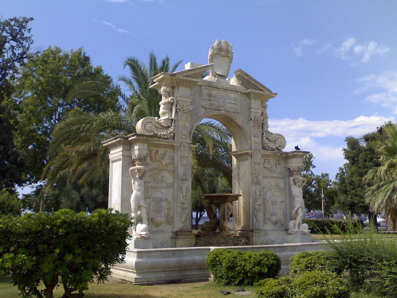 Fontana Lucia dans le Parc Comunale à Naples - Photo de Baku