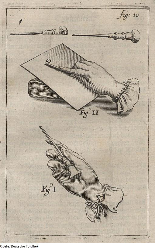 Abraham Bosse & Georg Andreas Böckler, Anwendung des Grabstichels, Kupferstich 1689, via commons.wikimedia.org (PD)