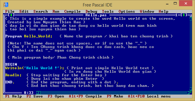 Lazarus 1. 8 & free pascal 3. 0. 4 free download & install on windows.