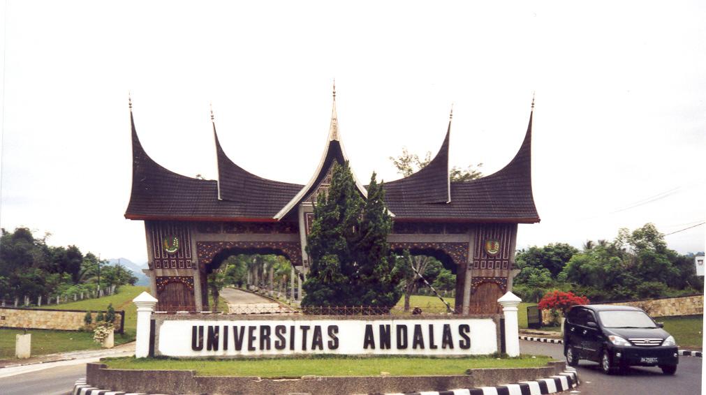 The Gate of Andalas University, Limau Manis, Padang