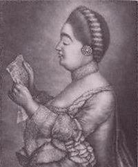 Giulia Frasi, soprano, creator of the role of Theodora