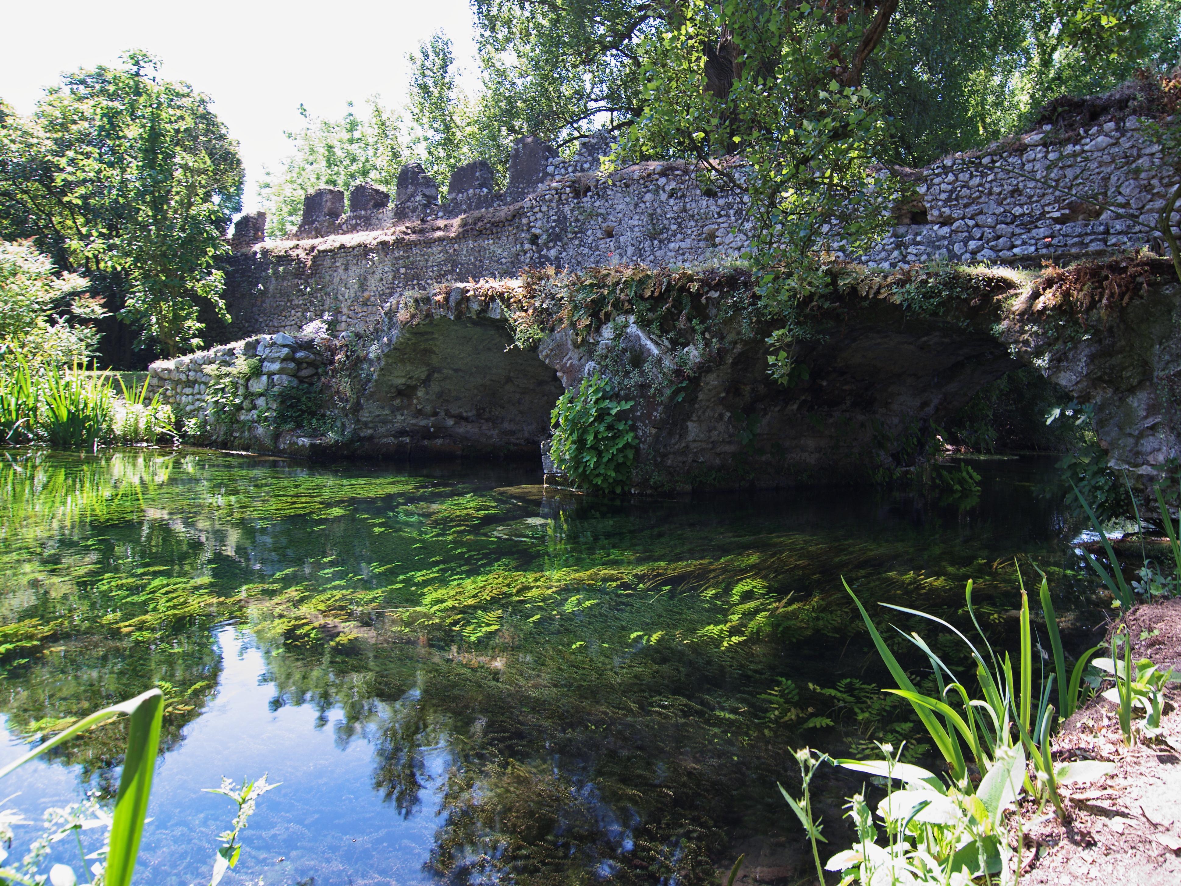 File Giardino Di Ninfa Ponte Del