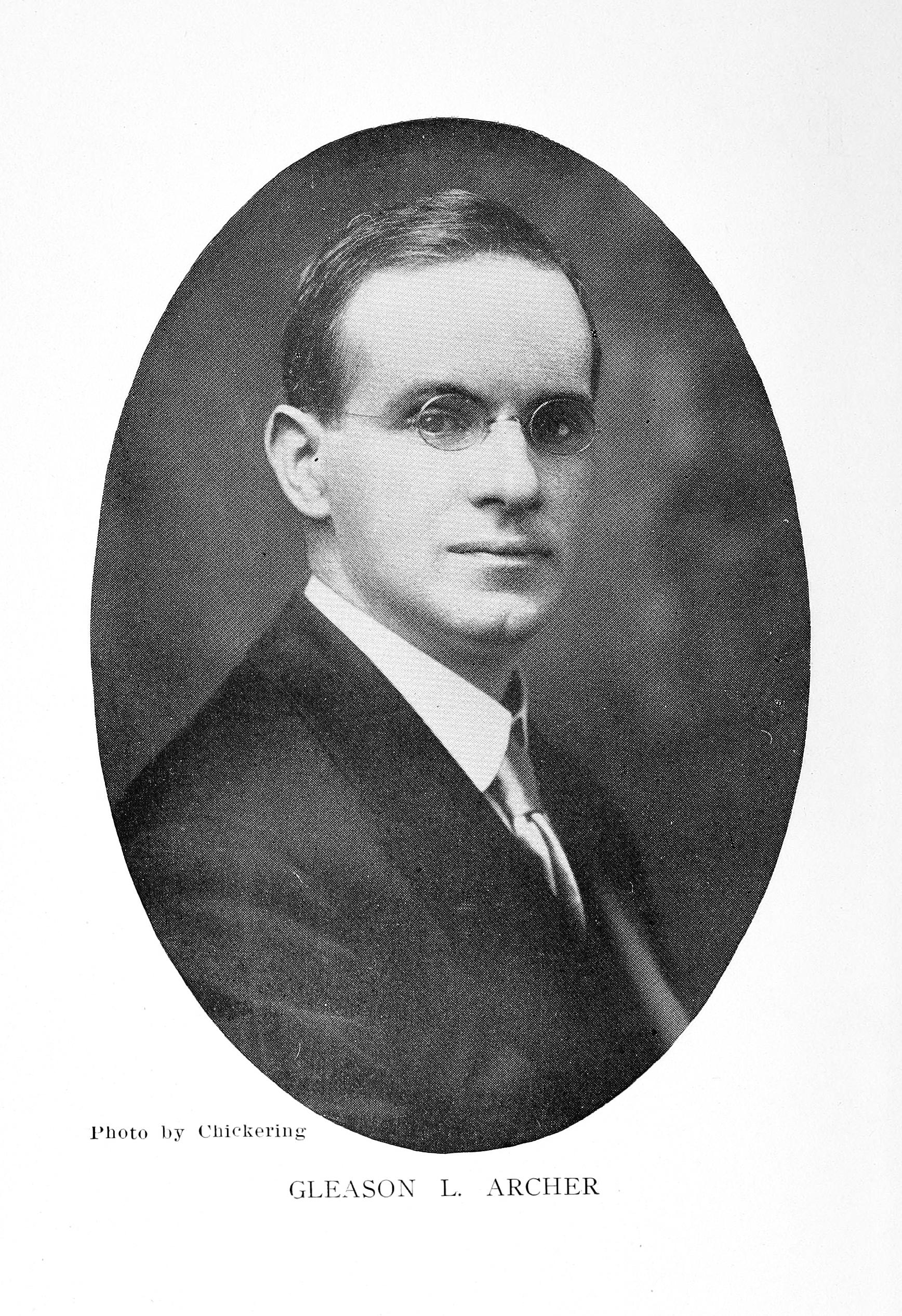 Gleason Archer Sr., ca. 1915