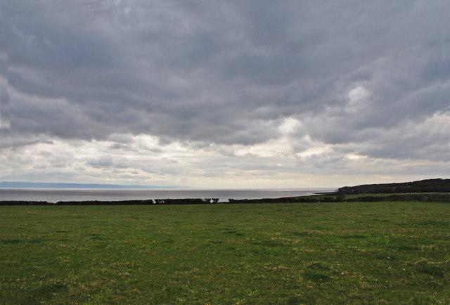 Glowering skies west of Llantwit Major - geograph.org.uk - 1279266