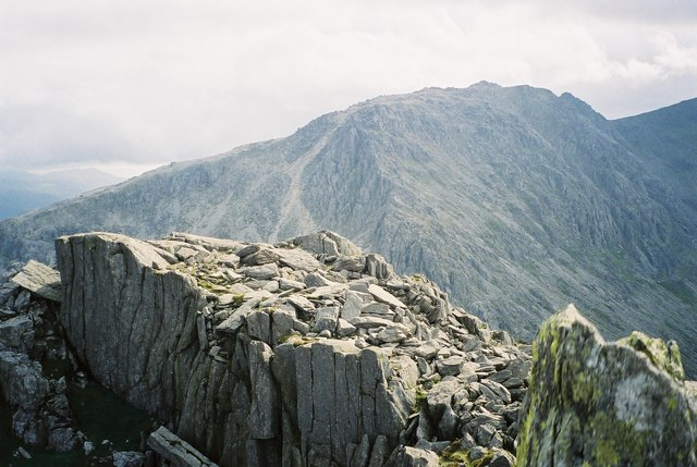 Glyder Fach from Tryfan - geograph.org.uk - 626901