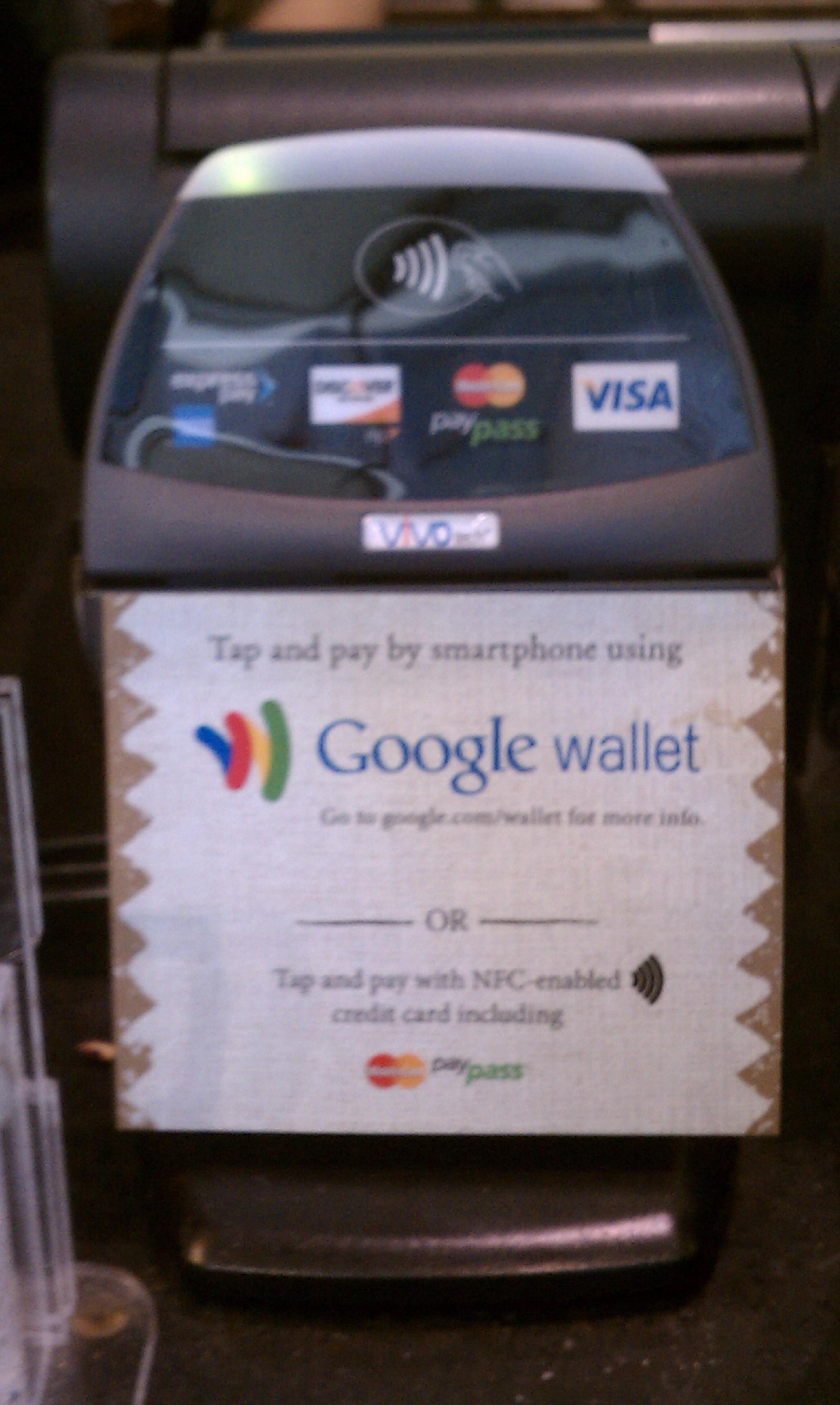 Google Wallet — Википедия