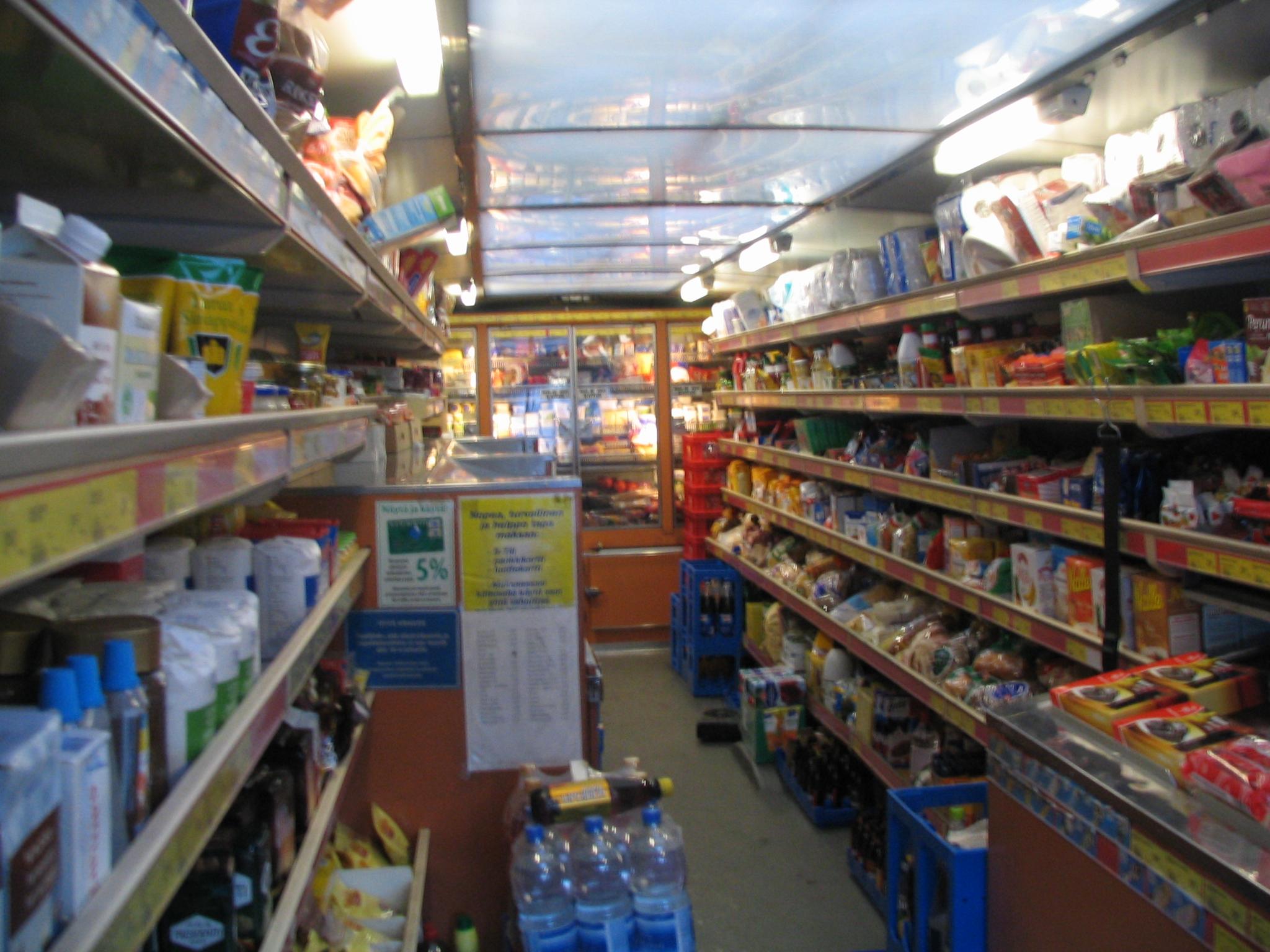 Inside Grocery Store