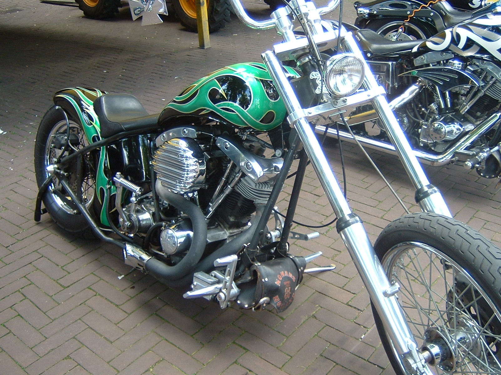 Custom Yamaha Motorcycles Photos