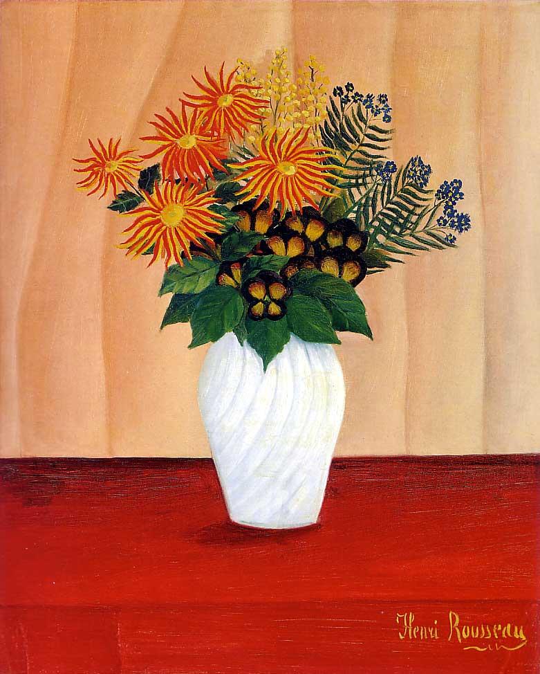 File Henri Rousseau Bouquet Of Flowers Tate Gallery Jpg Wikipedia