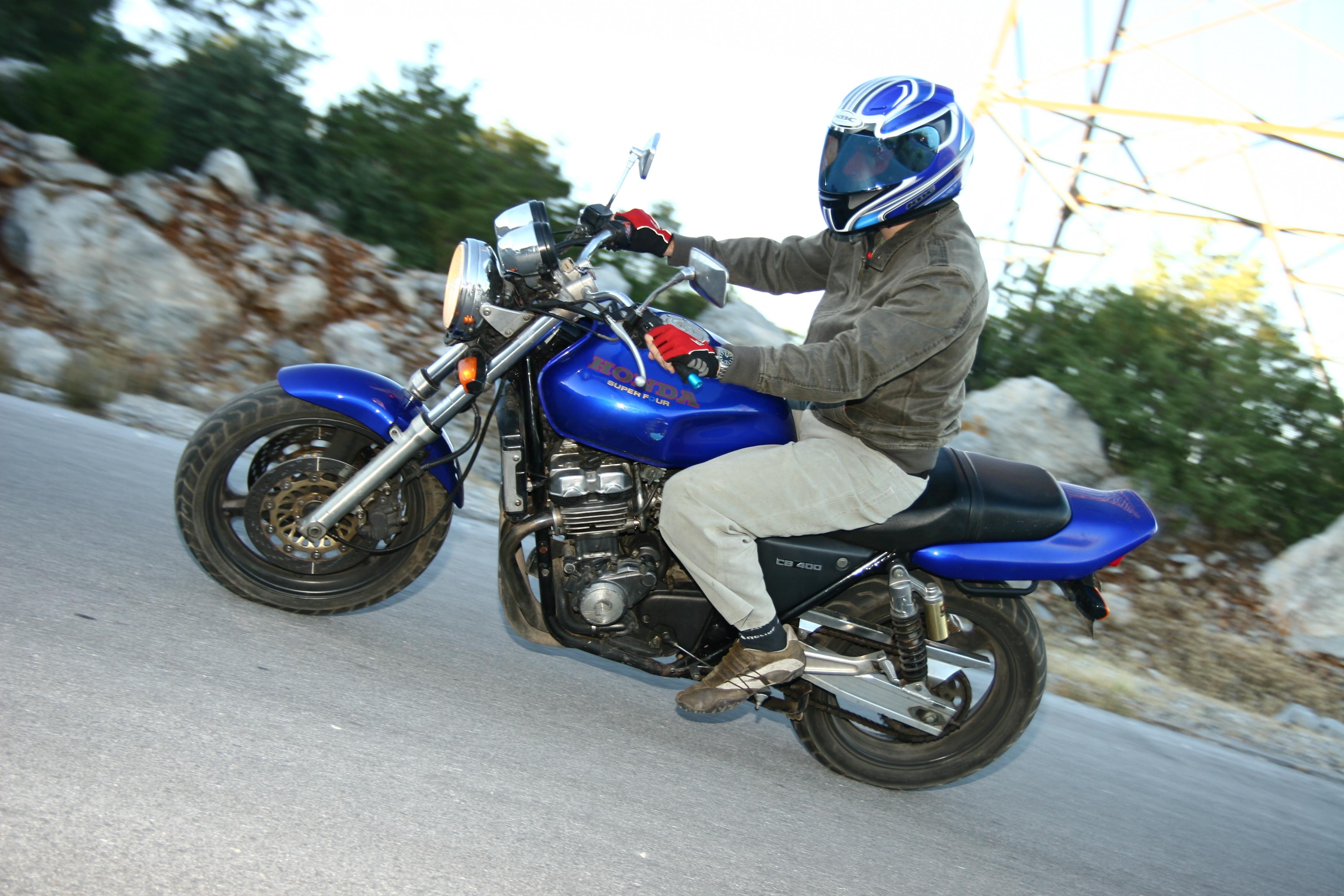 My New Ravi Piaggio 2014  (New Model) - Honda CB400 Super Four