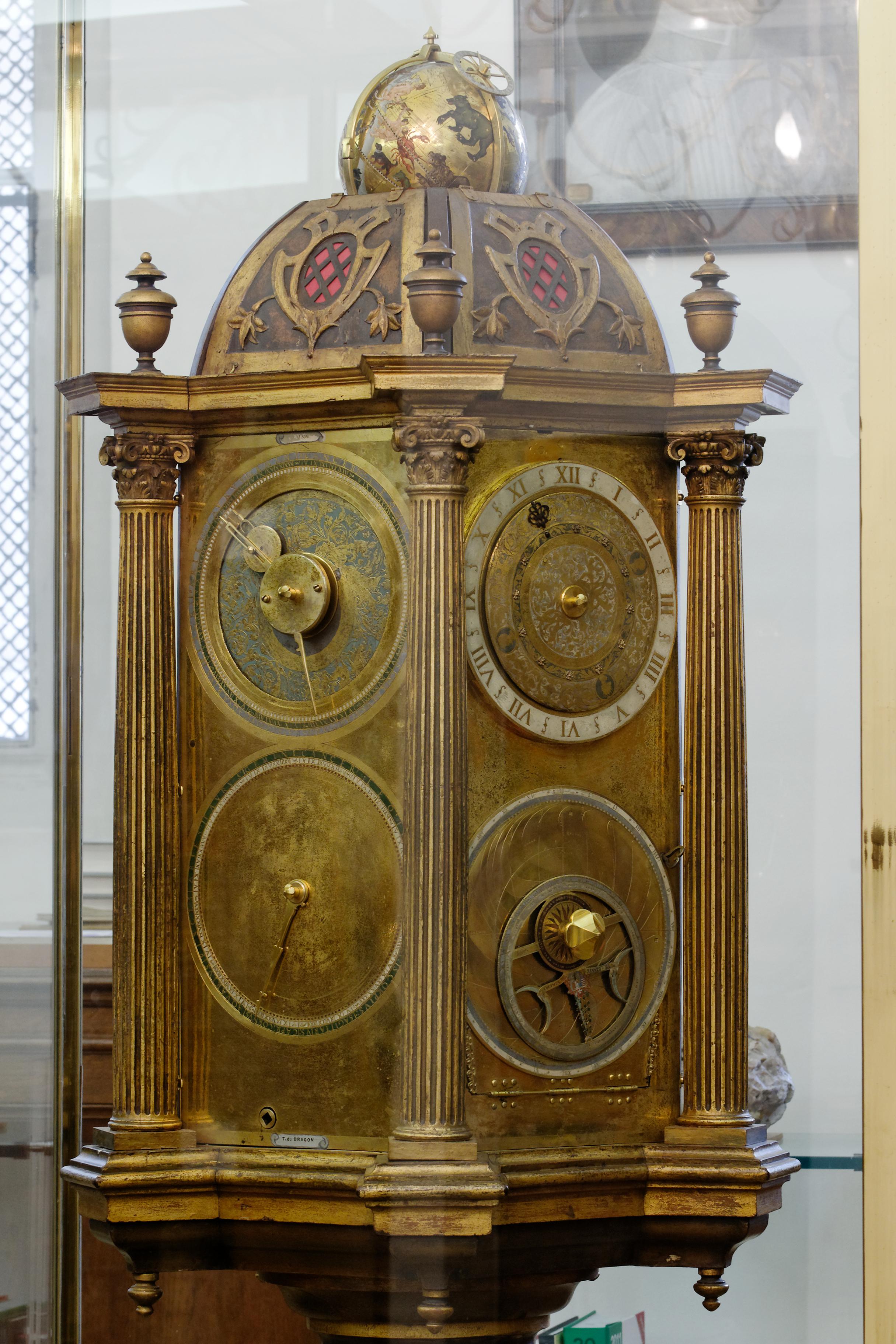 Horloge De Bureau Originale fichier:horloge astronomique bibliotheque sainte-genevieve