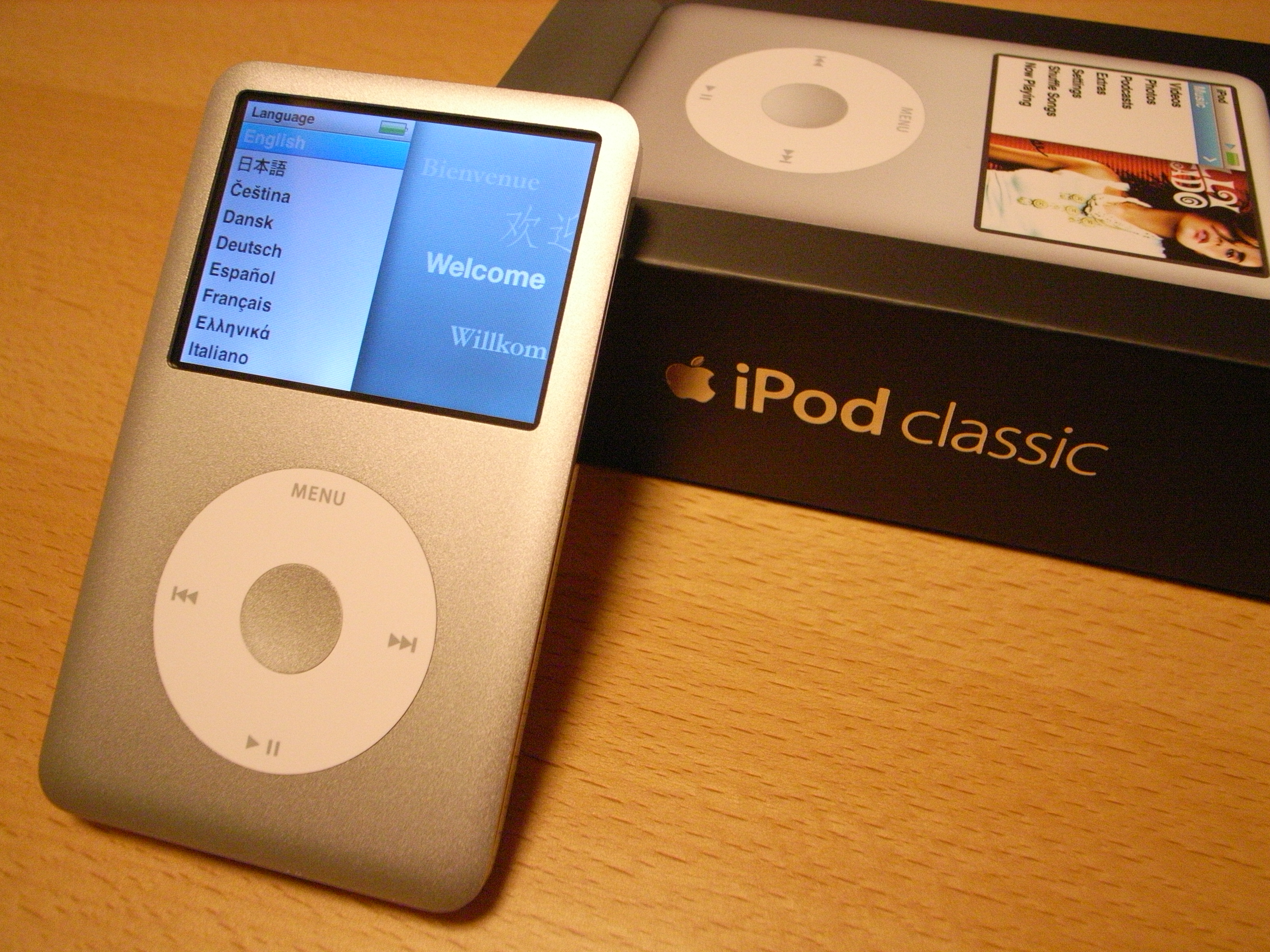 file ipod classic 6g 80gb packaging 2007 09. Black Bedroom Furniture Sets. Home Design Ideas