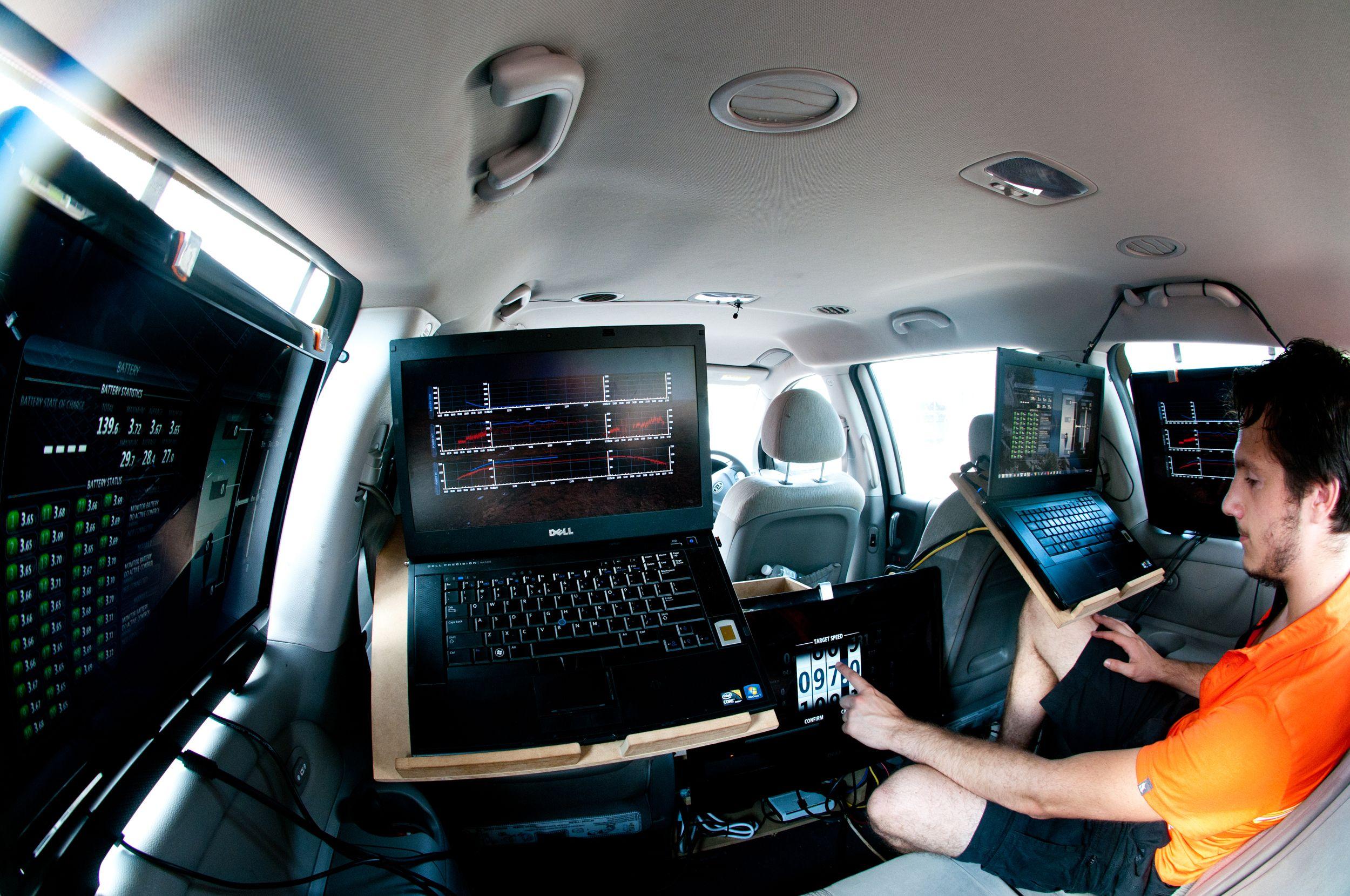 File Inside The Nuna 6 Chase Car Jpg Wikimedia Commons