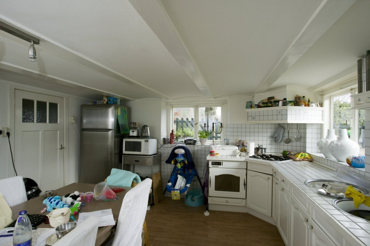 Keuken In Souterrain : File:interieur overzicht keuken in het souterrain baambrugge