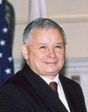 Jarosław Kaczyński, the leader of the Law and Justice and Prime Minister of Poland (2006-07)