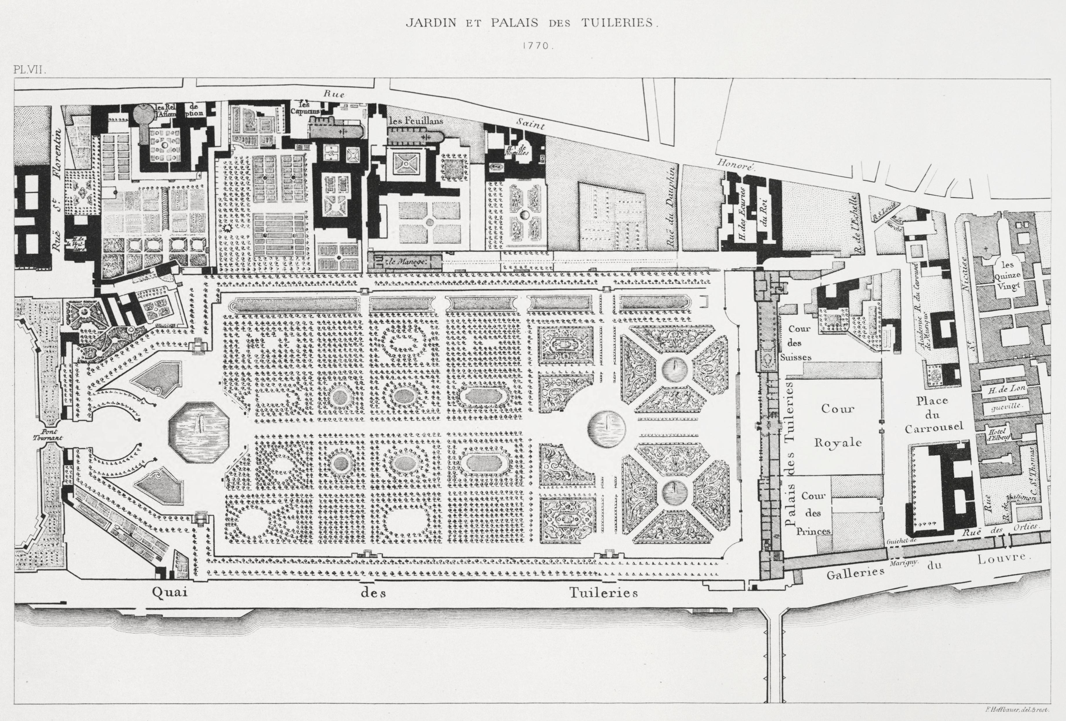 File jardin et palais des tuileries wikimedia for Plan de jardin