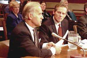 McCabe with [[Joe Biden]] in 2000