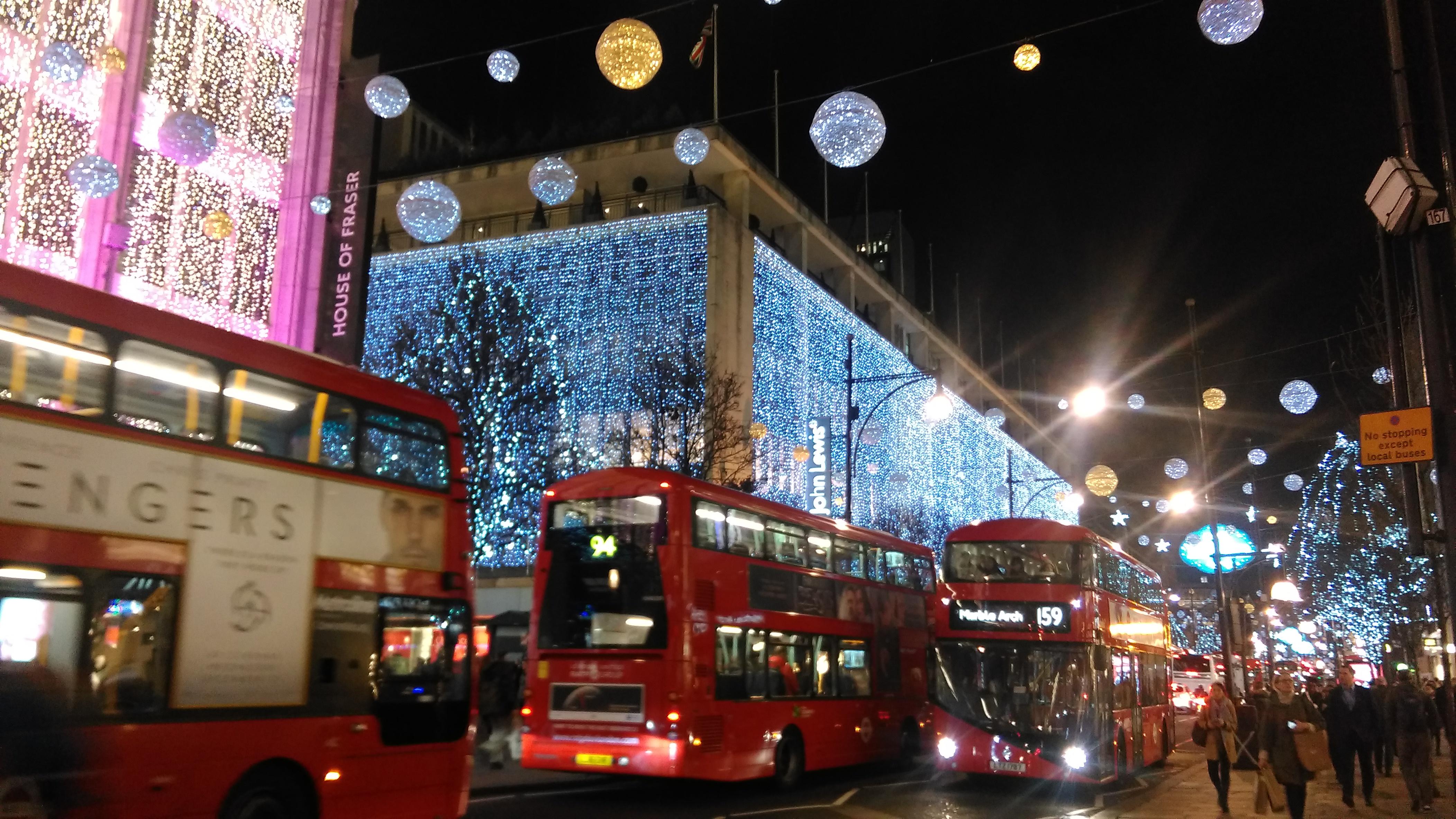 File:John Lewis Christmas Decorations 2016 Oxford Street London United  Kingdom