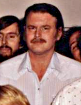 Swartzwelder in a 1992 staff photo for The Simpsons