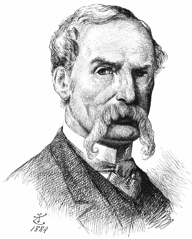 Self-portrait of John Tenniel, c. 1889