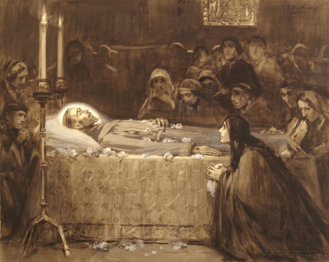 Risultati immagini per immagini di san Francesco d'assisi e di Jacopa dei settesoli