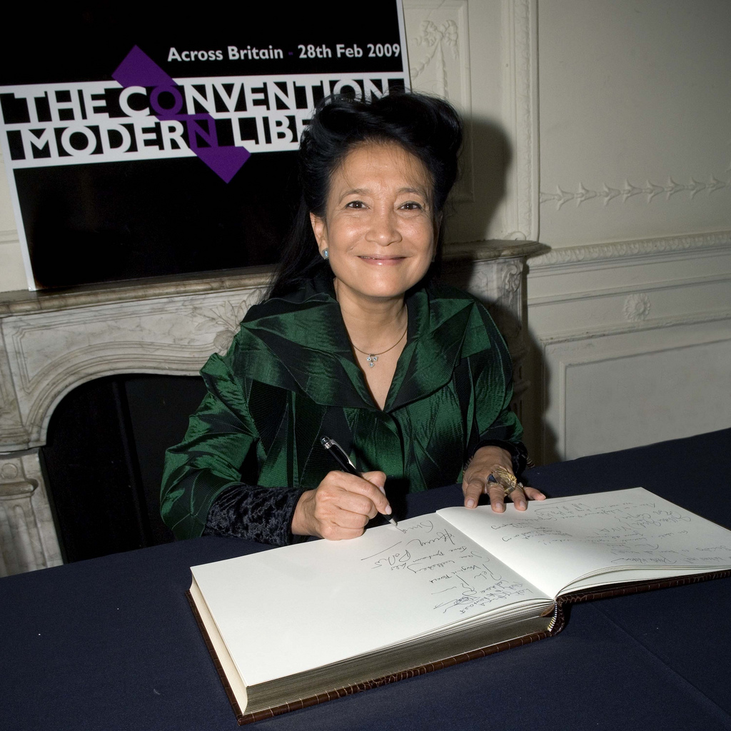 Jung Chang in London January 2010. Photo by Guy Aitchison via Wikimedia Commons