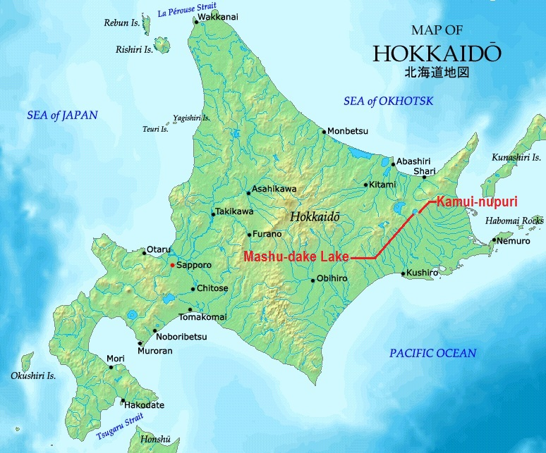 FileKamuinupuri and mashudake on hokkaido mapjpg  Wikimedia