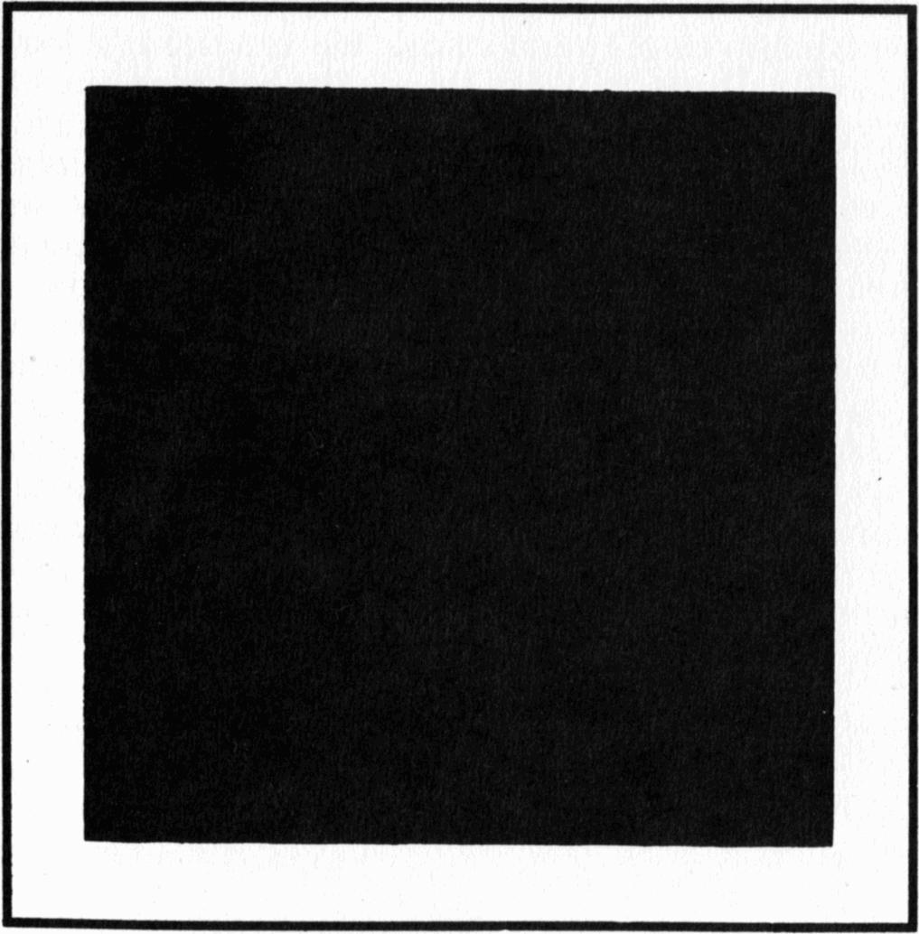 Size of this preview  590   215  600 pixels   Other resolutions  236    Malevich Black Square 1913