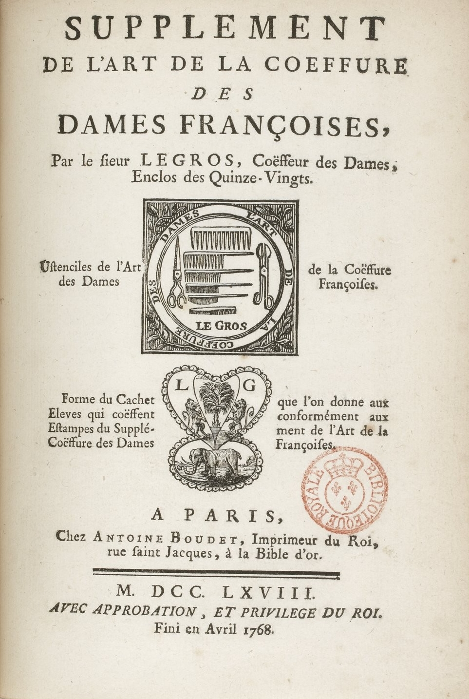 File Legros De Rumigny Titelseite Supplement De L Art De La