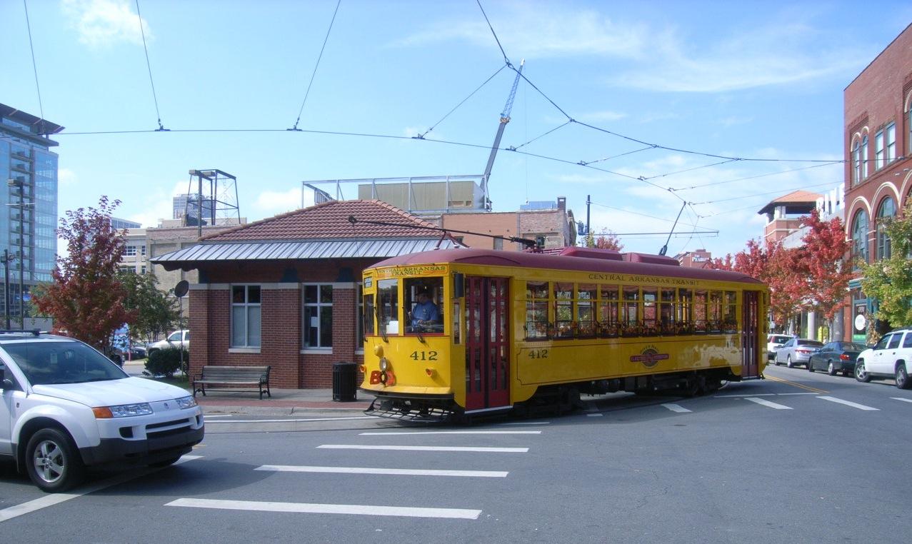 Little Rock Trolley Tour