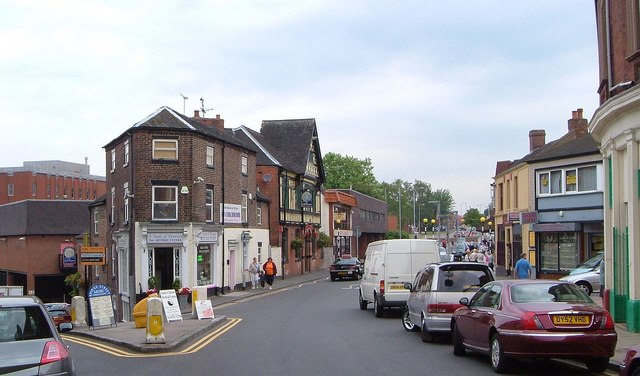 Liverpool Road, Newcastle-Under-Lyme - geograph.org.uk - 2101271