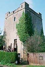 Longthorpe Tower (1310), a Grade I listed building.