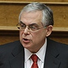 Lucas Papademos - Plenary Hall, Parliament 16 November 2011 (6) cropped.jpg