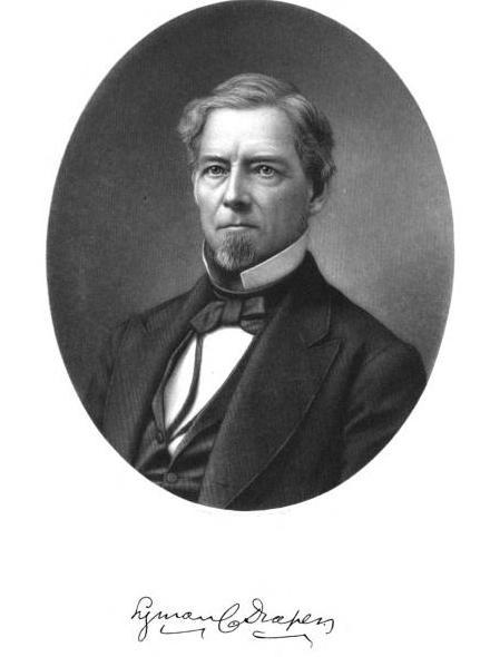 Portrait de Lyman C. Draper sur WIkimedia