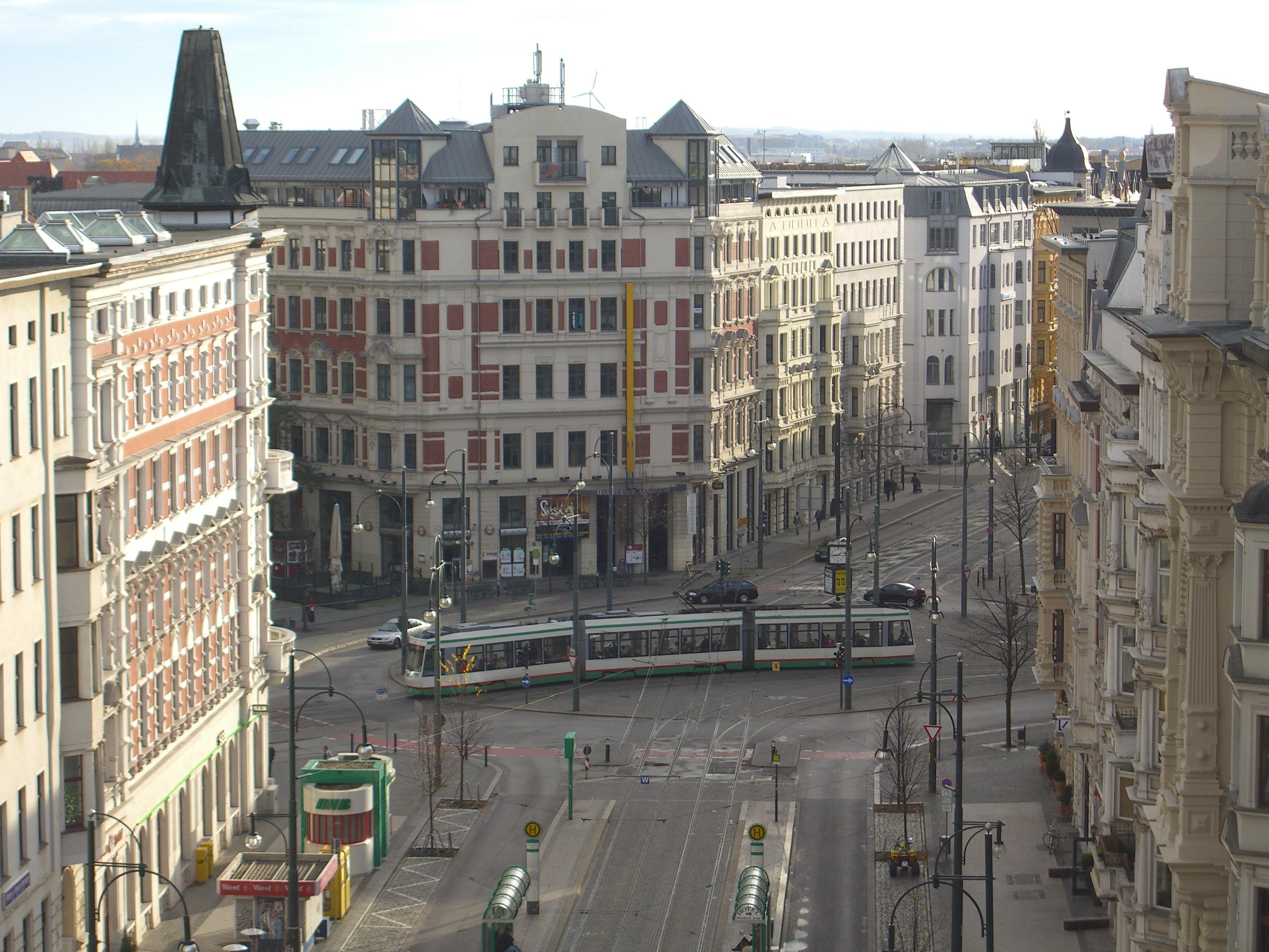 Hasselbachplatz Magdeburg