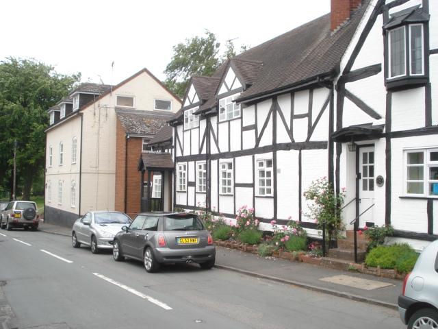Main street at Chaddesley Corbett - geograph.org.uk - 472270