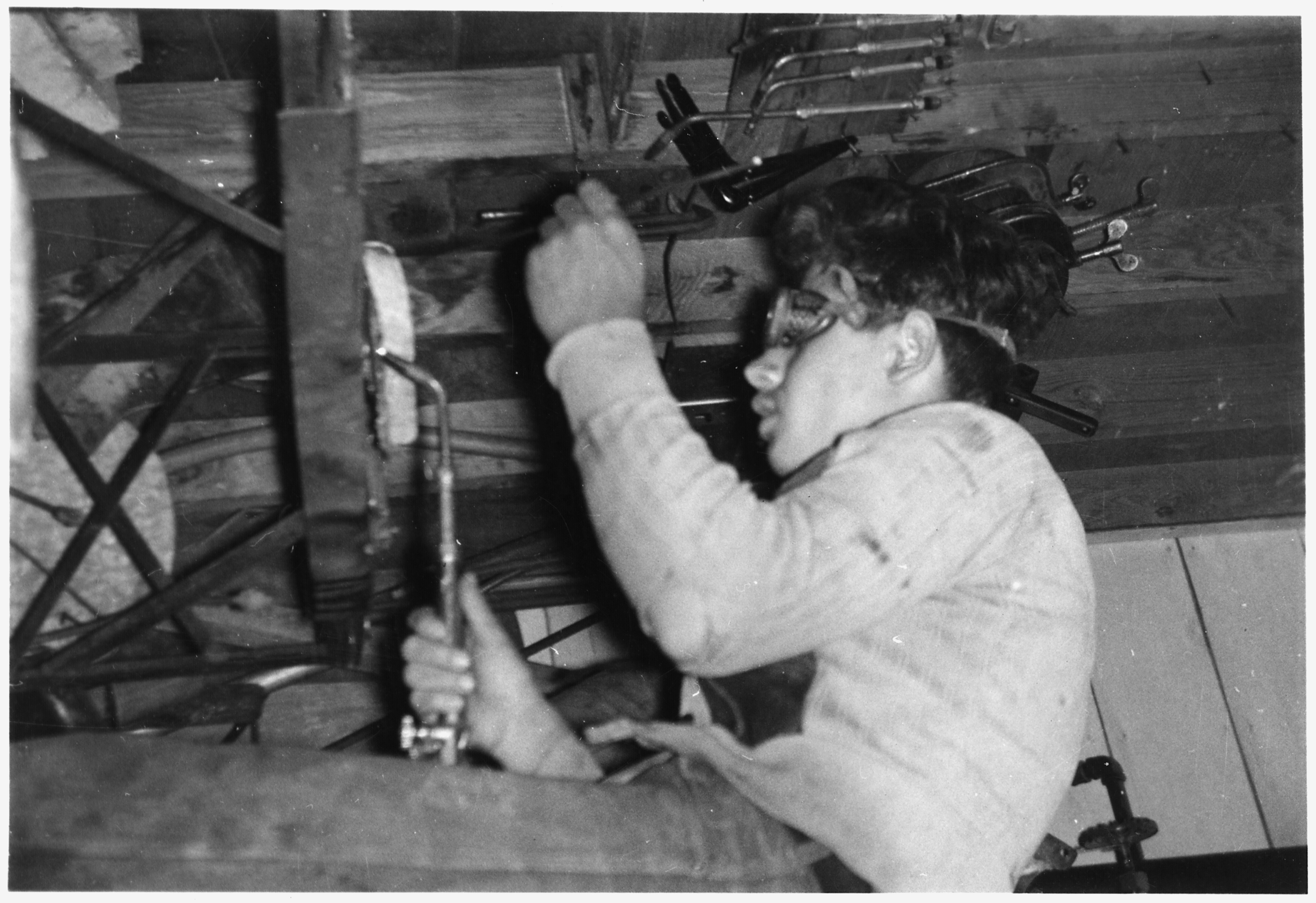 history of welding History of welding william barker timeline welding is a method of repairing or creating metal structures by joining the pieces of metals or plastic through various fusion processes generally, heat is used to weld the materials.