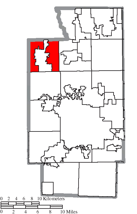 File Map Of Summit County Ohio Highlighting Richfield Township Png
