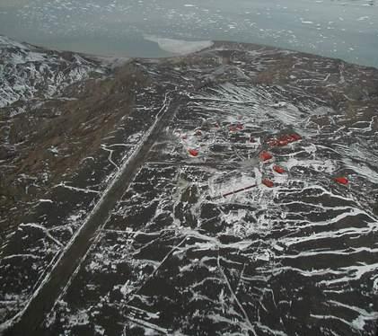 Base Antarctique Marambio Wikip 233 Dia