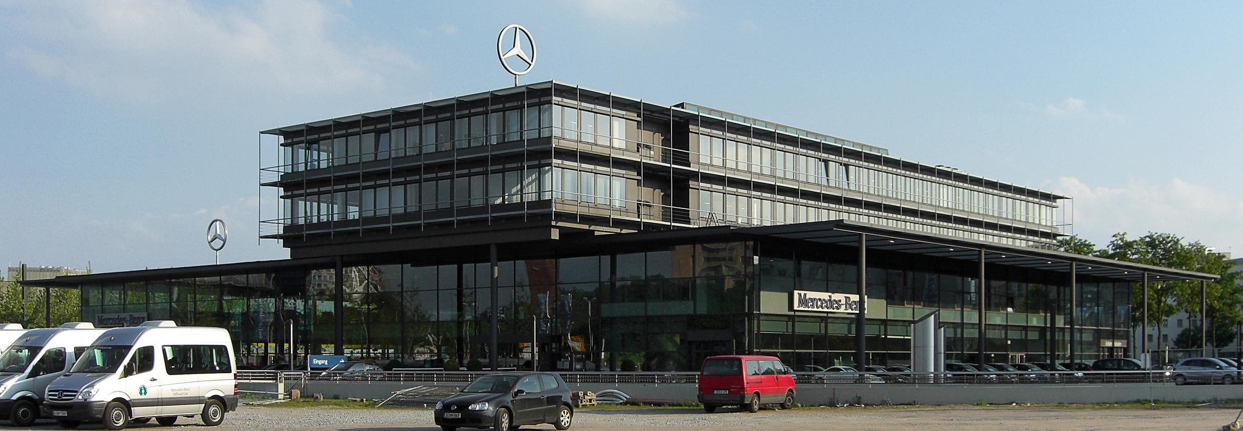 Mercedes Benz Niederlassung Kassel Nutzfahrzeugzentrum Kassel Lohfelden