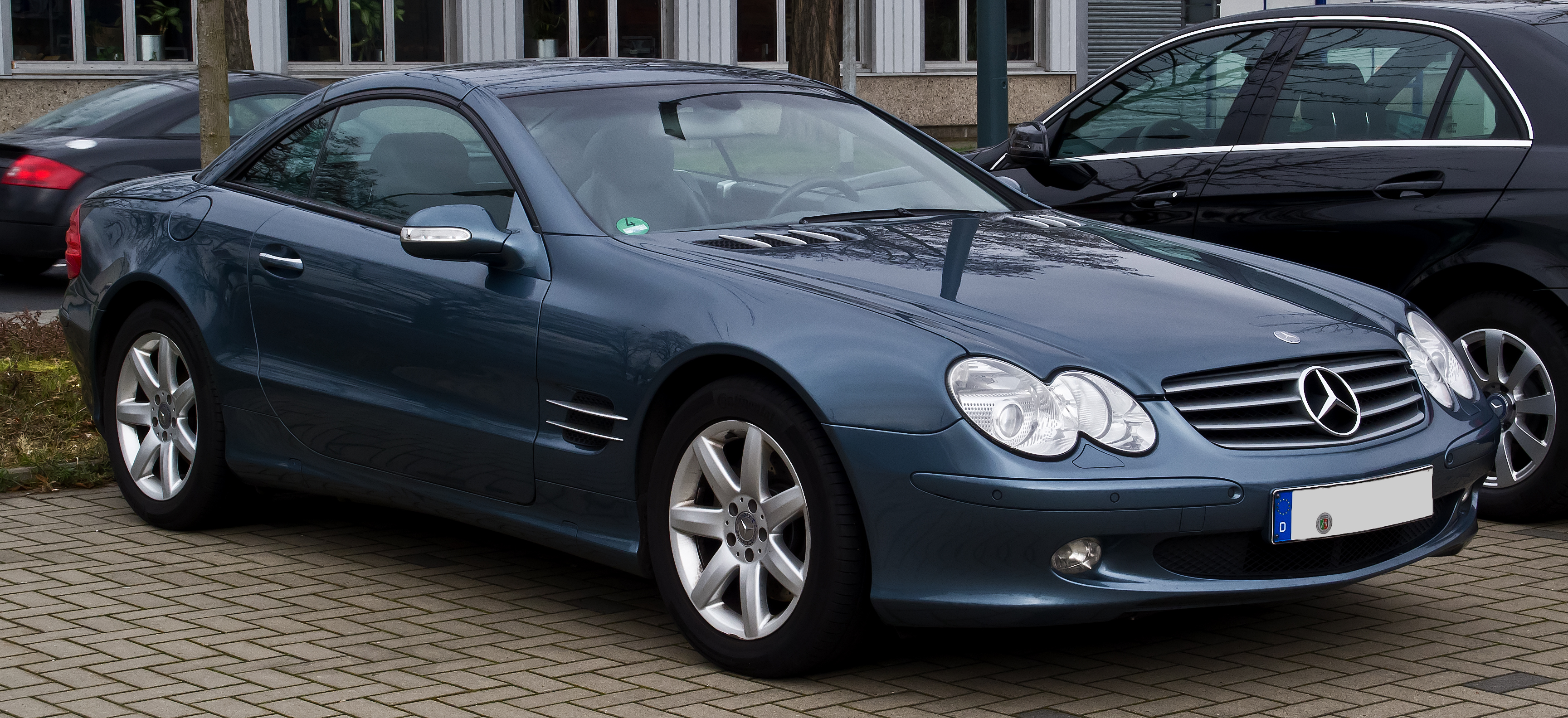 File mercedes benz sl 500 r 230 frontansicht 3 m rz for Mercedes benz r 500