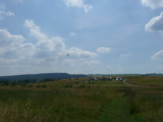 Model aeroplane flying at Westwood Country Park - geograph.org.uk - 898527