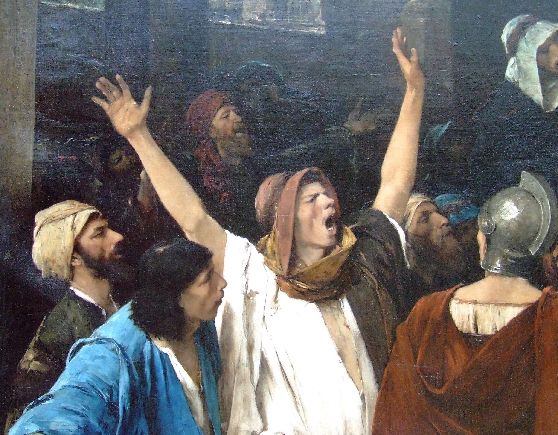 такие картинки хорошего разрешения иисус перед пилатом откровенно