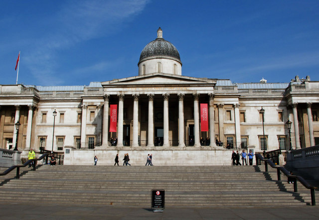 New approach to the National Gallery, London - geograph.org.uk - 1600272