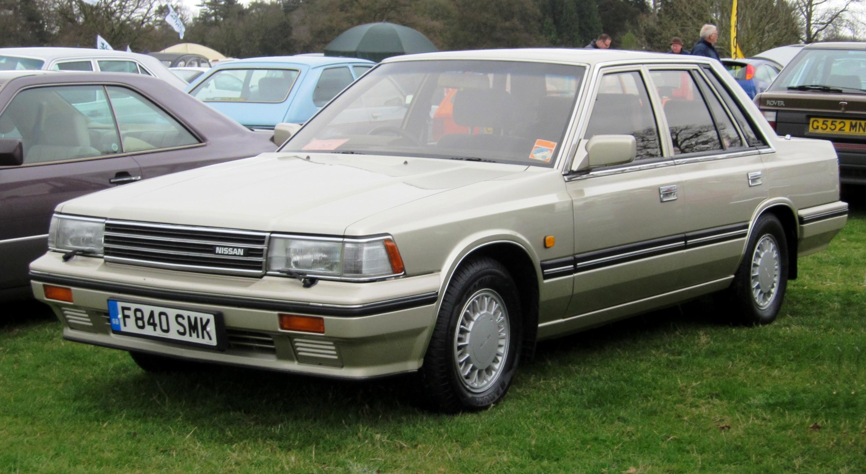 File:Nissan Laurel C32 2393cc first reg November 1988.JPG ...