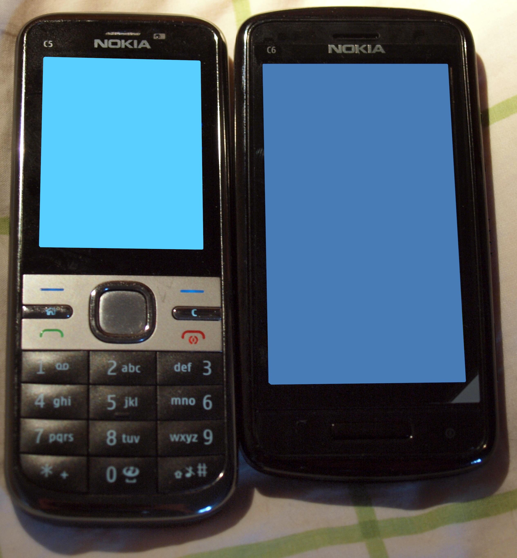 File:Nokia C5-00 and Nokia C6-01.jpg