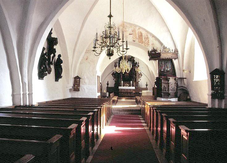 danske kirkers rumme