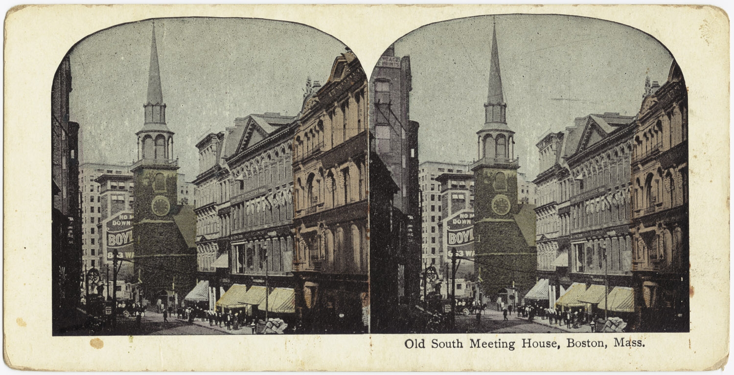 Old south meeting house boston pictures
