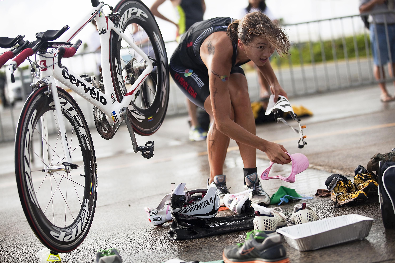 Overcoming the elements%2c athletes labor through wind%2c rain to conquer 2011 sprint triathlon 110522 m mm918 065